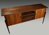 Walnut MidCentury Console by Ray Finan Furniture Studio