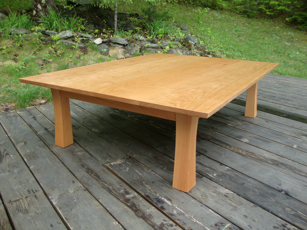 finished Tea Table by Hayama Cabinetmakers