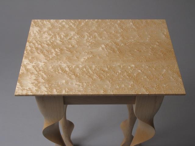 Birdseye Vermont maple table top - David Hurwitz Originals