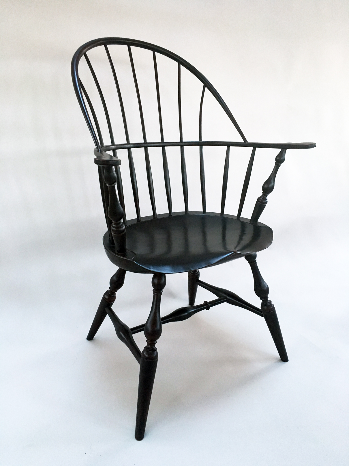 Sawyer Made Windsor Sackback armchair | Handcrafted in Vermont