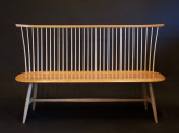 cherry and ash windsor bench by timothy clark