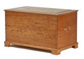 Inscribed Cherry Hope Chest