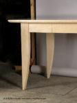 8 Foot Long Maple Desk, by David Hurwitz, Randolph, Vermont. Copyright 2009, David Hurwitz. All Rights Reserved.