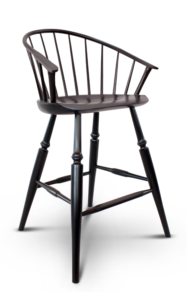 Low Back Bar Stool Guild Of Vermont Furniture Makers
