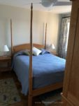 pencil post bed, bed, shaker