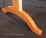 trestle table, shaker design, Vermont, Timothy Clark