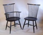 windsor chair, Vermont, hand made