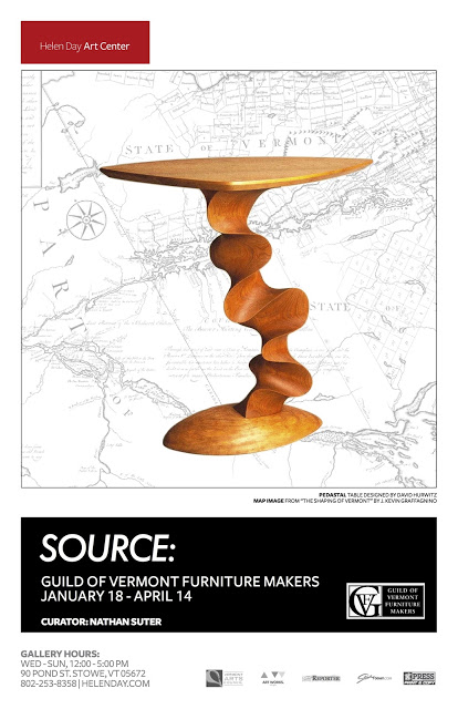 helen day art center, Stowe, Vermont, made in Vermont, Guild of Vermont Furniture Makers