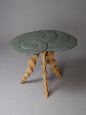 Dave Hurwitz Nautilus End Table