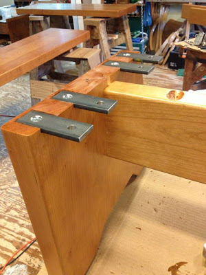 Vermont Guild of Furniture Makers Tim Clark Custom Bench Process